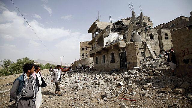 غارات جوية مكثّفة لقوات التحالف في اليمن