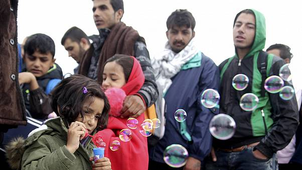 Refugees flow through Hungary and Austria, eager to reach Germany