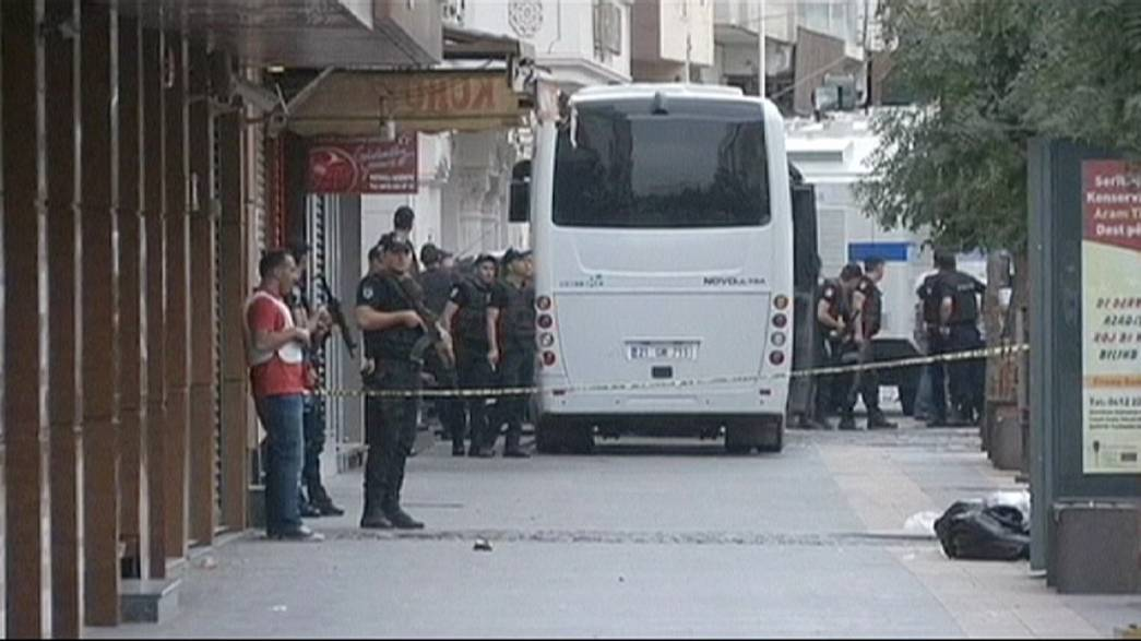 Two Turkish policemen killed in clashes with PKK