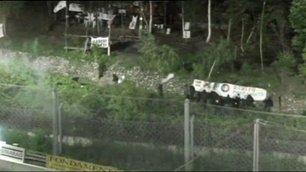 No Tav attaccano cantiere di Chiomonte, otto arresti