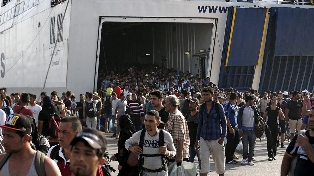 Flüchtlingskrise: Gewalttätige Ausschreitungen auf Lesbos