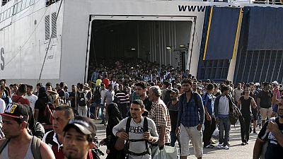 Grecia: l'UNHCR chiede l'evacuazione dei migranti da Lesbo