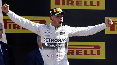 Lewis Hamilton wins in Monza after facing investigation over Mercedes tyre pressure