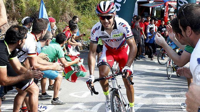 Rodriguez 1 másodpercre van Aru mögött a Vueltán
