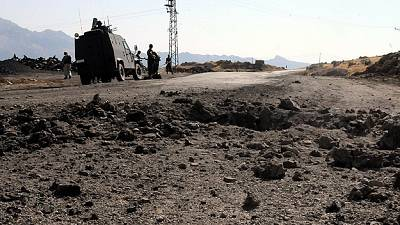 Turkish soldiers killed in PKK convoy attack