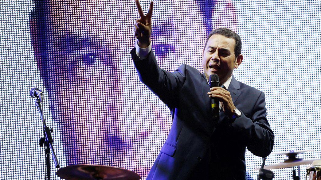 Az államfő rács mögött, új elnök csak októberben lesz Guatemalában