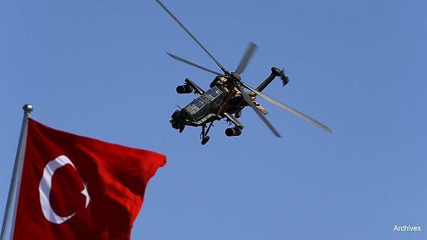 Турция:авиаудары по курдским позициям в ответ на нападение на армейский патруль