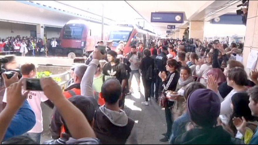 Los refugiados siguen llegando a Austria