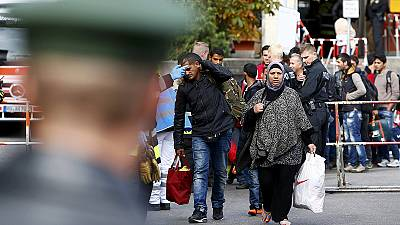 Migrants: 2,500 expected in Germany on Monday