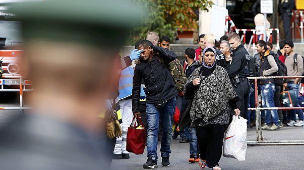 Afflux de réfugiés à Munich