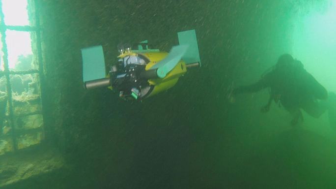 الروبوتات السلاحف لاسكتشاف الآثار تحت الماء