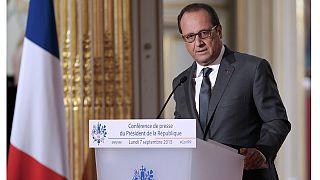 """Hollande: """"Francia acogerá a 24.000 refugiados en los próximos dos años"""""""