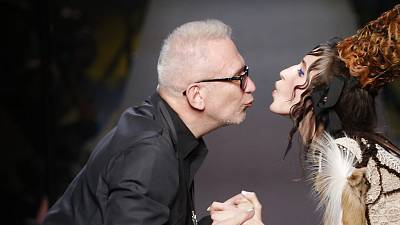 Fashion's 'enfant terrible' Jean Paul Gaultier speaks to Euronews