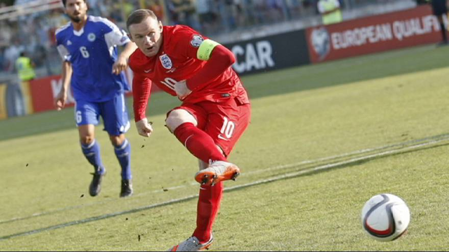 Inglaterra sella su clasificación para la Eurocopa con récord Wayne Rooney incluido