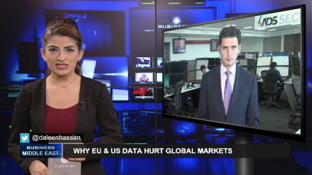 Impact of EU, US data on shaky global markets