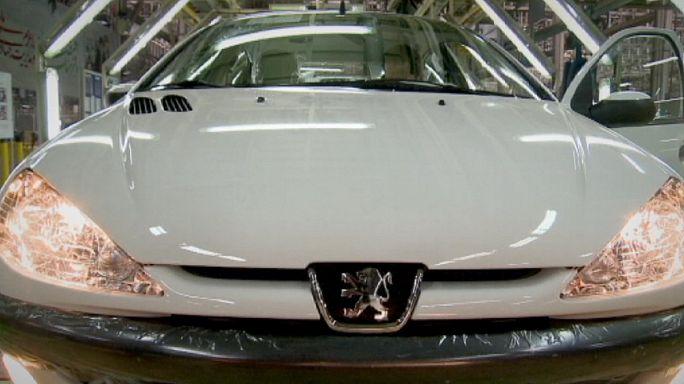 شركات تصنيع السيارات تتسارع للفوز بعقود مع ايران