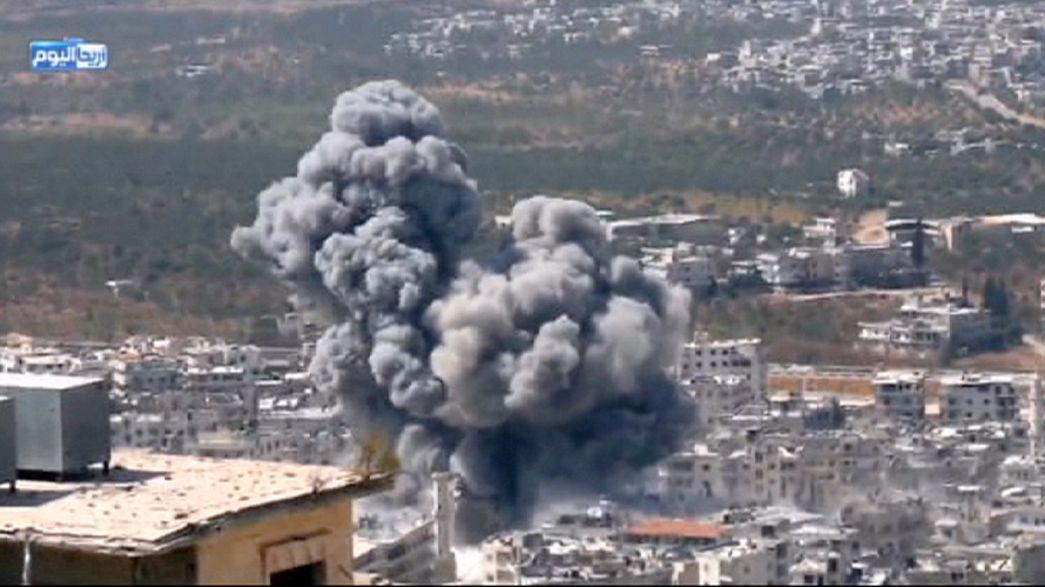 Siria: attacco con barili-bomba