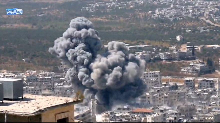 Guerra aérea intensifica-se na Síria e no Iraque