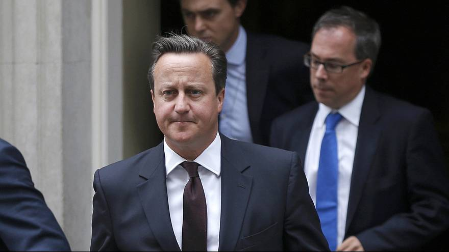 UK's Cameron changes tack on refugees, admits drone killing