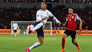 Euro 2016: Vitória cinzenta na Albânia deixa Portugal com um pé em França