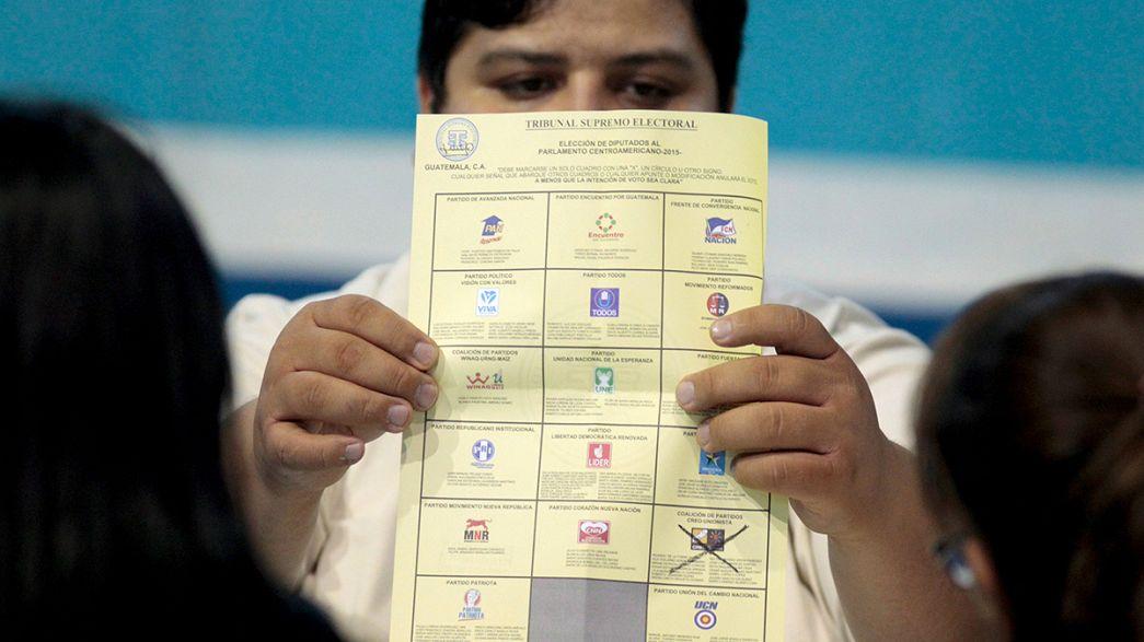 Präsidentschaftswahlen in Guatemala: Schauspieler Morales klarer Sieger, Kopf-an-Kopf-Rennen um den zeiten Platz