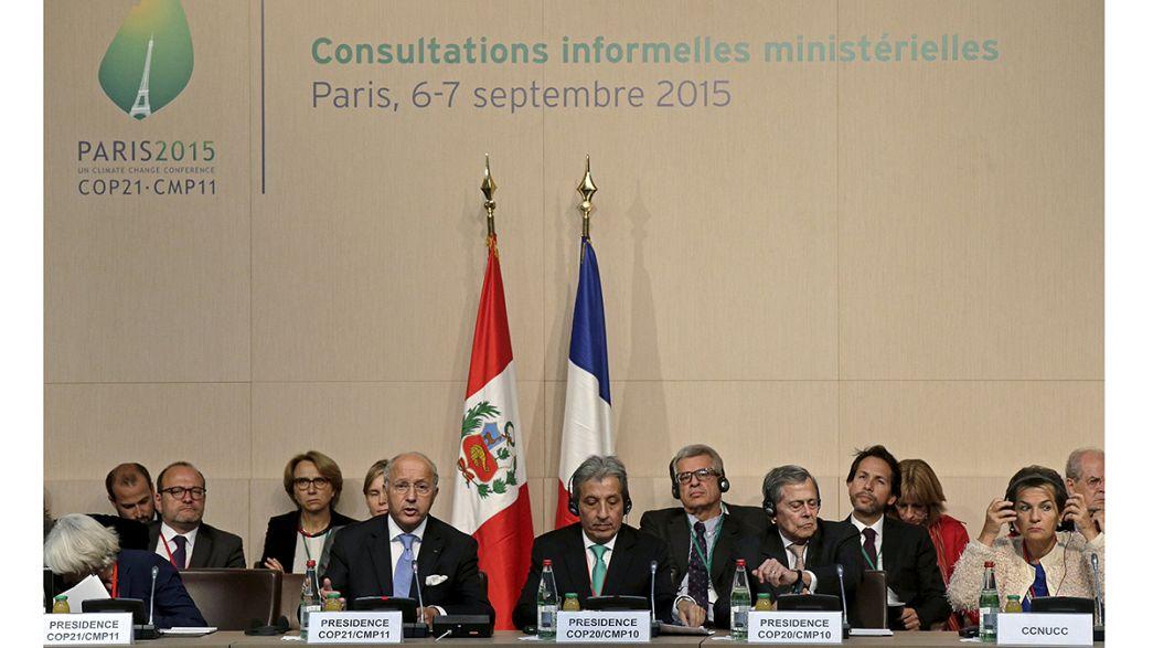Neuer Weltklimavertrag: Minister arbeiten weiter an Entwurf