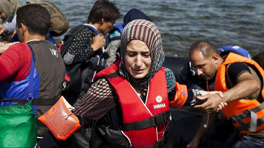 REPORTAJE-La travesía de un refugiado sirio en imágenes