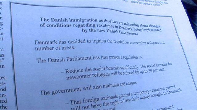 Дания ужесточает правила для мигрантов и честно объявляет об этом