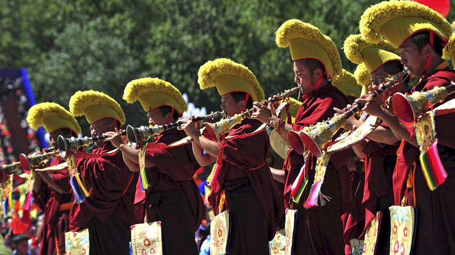 Tibet : une célébration en trompe-l'œil