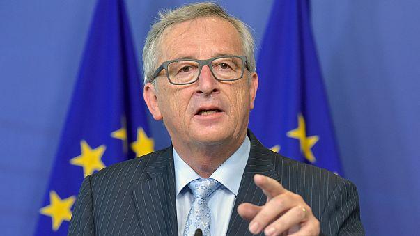 EU-Chef Jean-Claude Juncker hält Rede zur Lage der EU