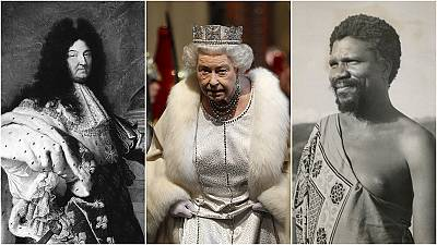 How does the Queen compare to other long-serving monarchs?