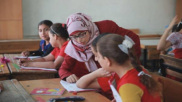 Учеба против депрессии: беженцам помогают педагоги