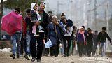 Macedonia registra una llegada récord de 7.000 refugiados sirios