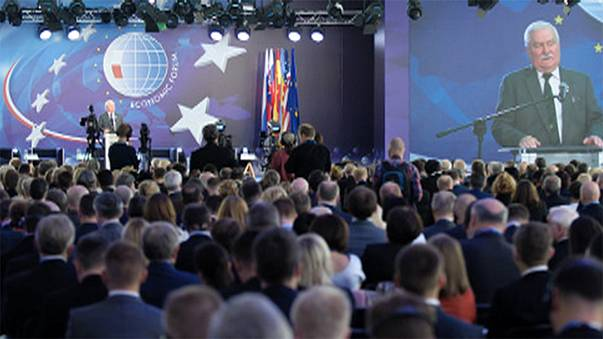 Watch the Euronews panel at the 25th Economic Forum in Krynica, Poland