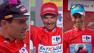Vuelta: Rodríguez de vermelho, mas é de Dumoulin que todos falam
