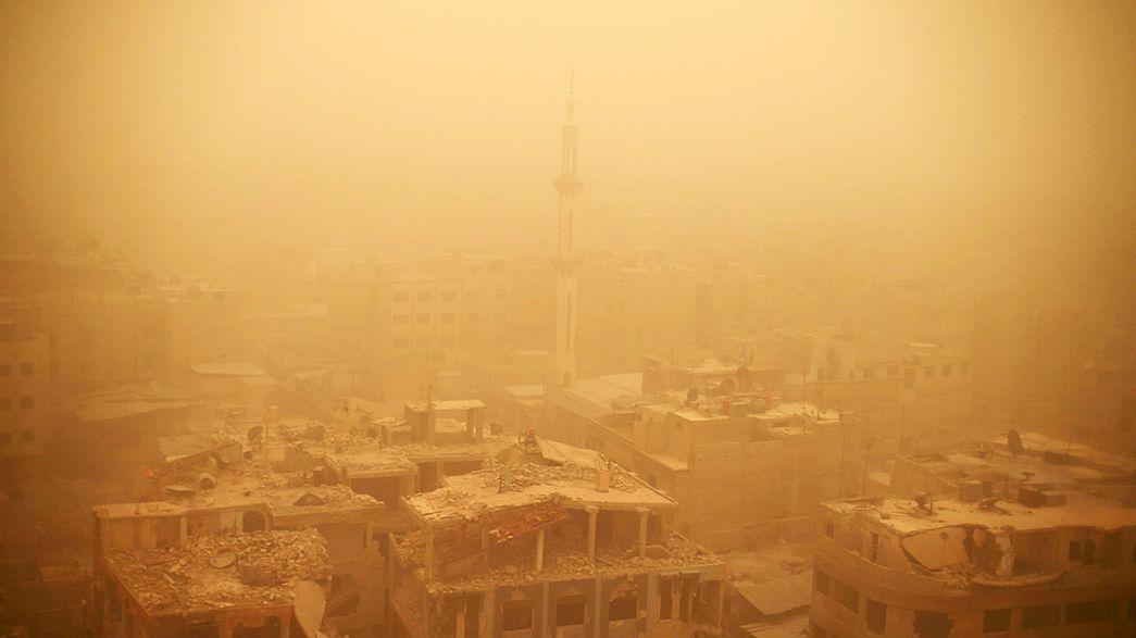 Une tempête de sable meurtrière en Syrie et au Liban
