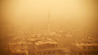 Dust storm engulfs the Middle East