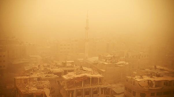 Tempestade de areia faz vários mortos Médio Oriente