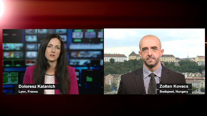 A magyar kormányszóvivőt kérdeztük a menekülthelyzetről