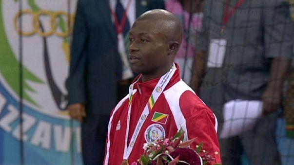 Innocent Okemba gewinnt Gold in Brazzaville