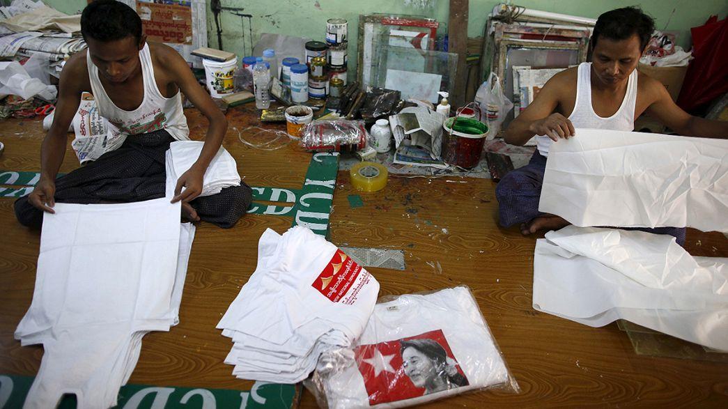 Lancement de la campagne électorale pour les législatives au Myanmar