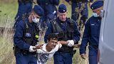 Hongrie : scènes dramatiques près de Roszke