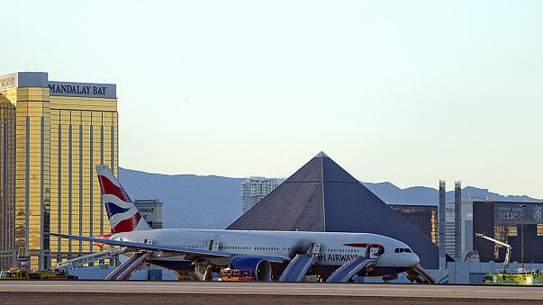 Avião da British Airways incendeia-se ao descolar de Las Vegas