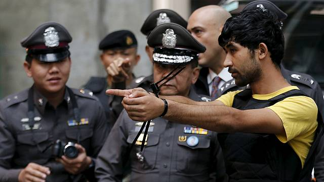 المتهم يوسوفو مييراي يعترف بتسليم قنبلة إلى منفذ تفجير بانكوك