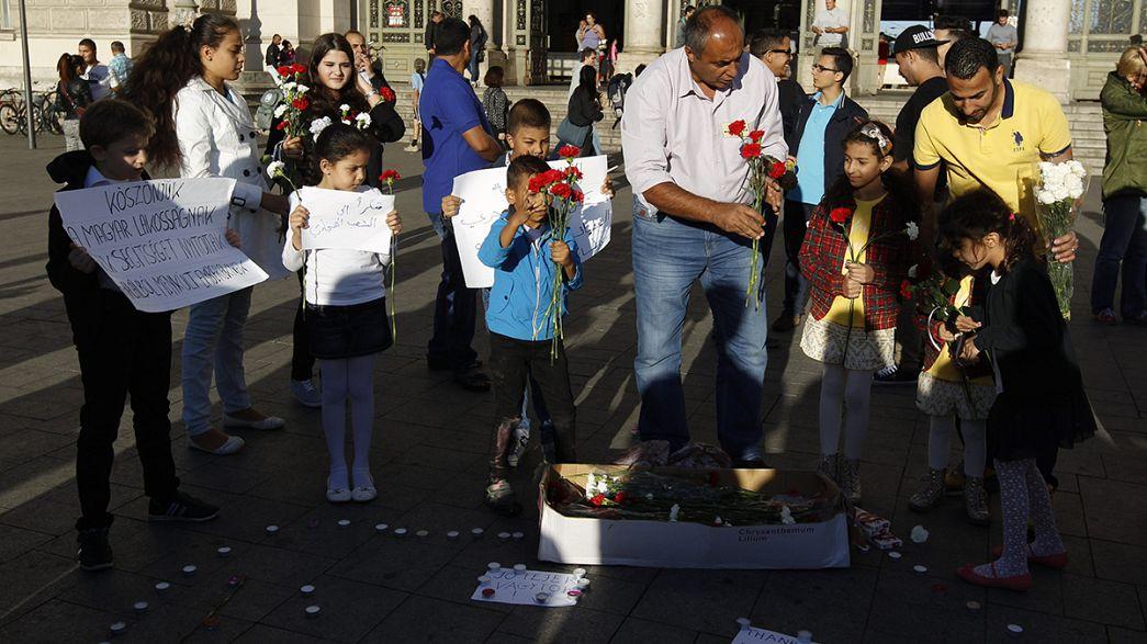 Flüchtlinge willkommen in Ungarn!