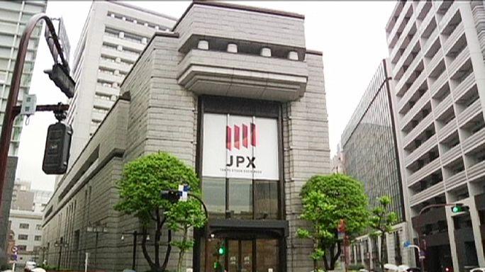 Bolsa de Tóquio com melhor sessão em sete anos