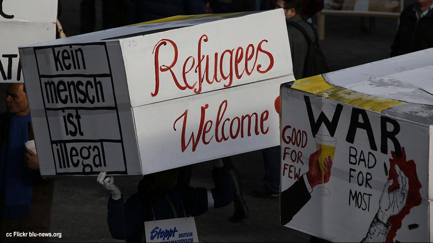 """Benvenuti a voi profughi"", l'Europa solidale si mobilita davanti all'emergenza"