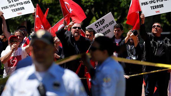 Image: Pro-Erdogan demonstrators