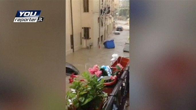 Fortes pluies et inondations en Sicile