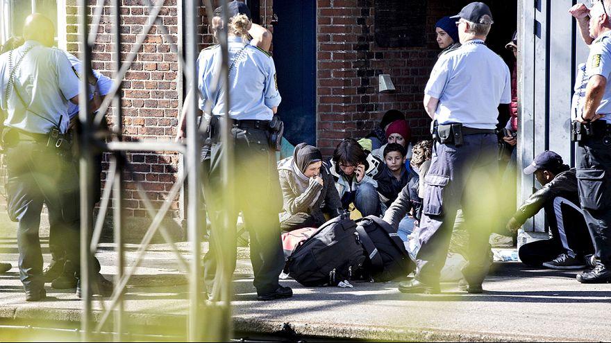 Мигранты приостановили железнодорожное сообщение между Данией и Германией